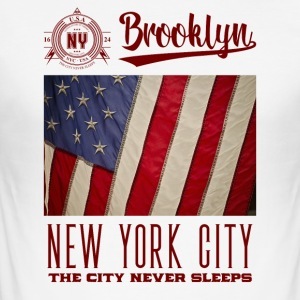 New York City · Brooklyn - Men's Slim Fit T-Shirt
