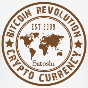 Bitcoin Revolution - Slim Fit T-skjorte for menn