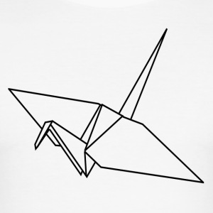 ++ Origami Crane ++ - slim fit T-shirt