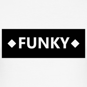 Funky Black Block - slim fit T-shirt