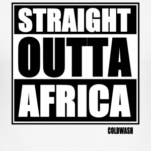 Straight Outta AFRIKA - Slim Fit T-shirt herr