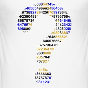 Numbers - Slim Fit T-shirt herr
