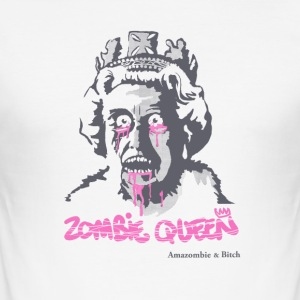 Zombie dronning - Herre Slim Fit T-Shirt