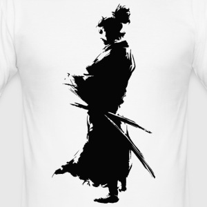 KING SAMURAI COLLECTION - Slim Fit T-skjorte for menn