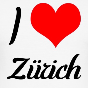 I love Zurich - Men's Slim Fit T-Shirt