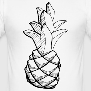 ananas_zpk - slim fit T-shirt