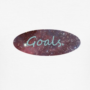Space_Goals - Slim Fit T-shirt herr