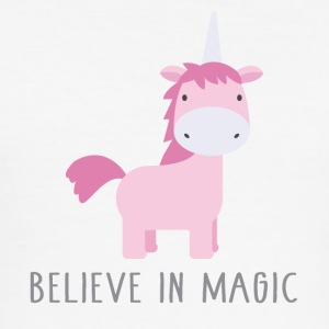 Believe in Magic - Men's Slim Fit T-Shirt