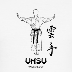 Kata Unsu - Männer Slim Fit T-Shirt