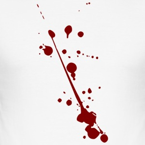 Blood spots - Men's Slim Fit T-Shirt