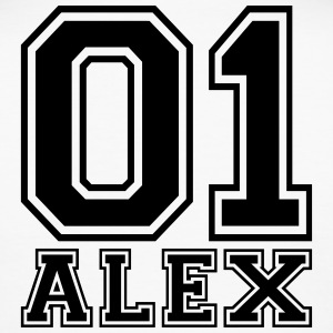 Alex - Name - Männer Slim Fit T-Shirt