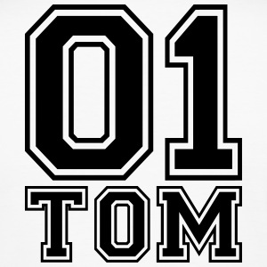 Tom - Name - Men's Slim Fit T-Shirt