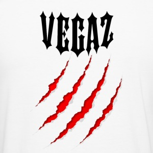 Vegaz Logo V3 Black Bear Claw - Slim Fit T-shirt herr