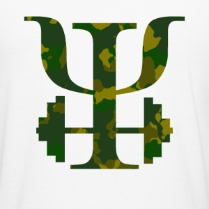 Logo Camo - Men's Slim Fit T-Shirt