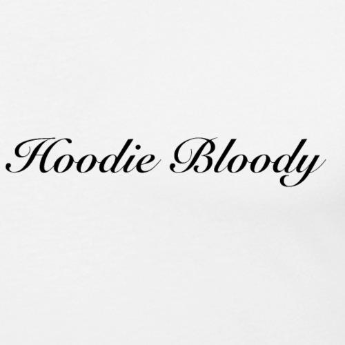 Hoodie bloody - T-shirt près du corps Homme