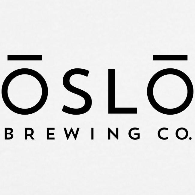 OSLO BREWING CO. - Logo Black