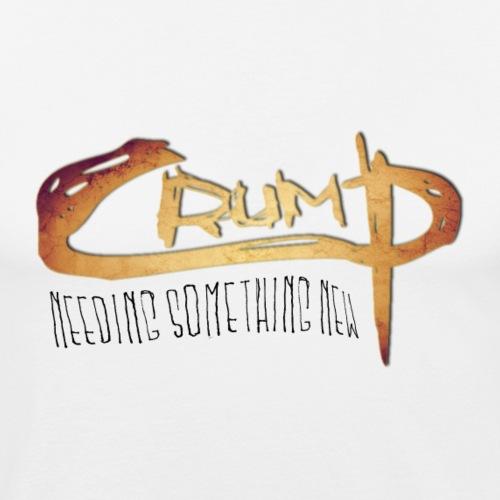 redFlower crump2 png - Männer Slim Fit T-Shirt