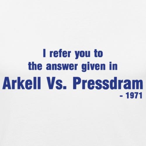 Arkell vs Pressdram - Men's Slim Fit T-Shirt