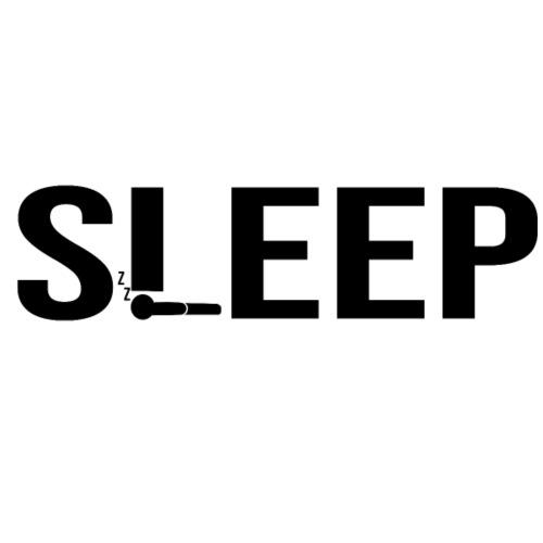 SLEEP - Camiseta ajustada hombre