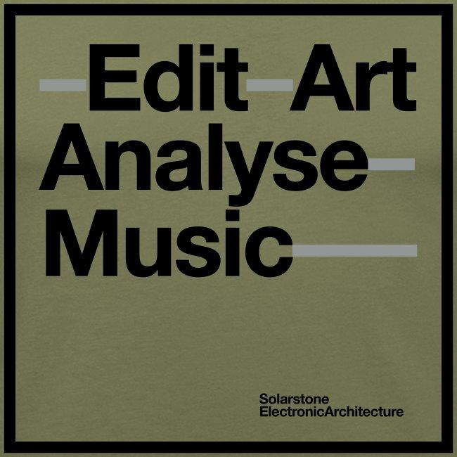 Edit Ary Analyse Music Black