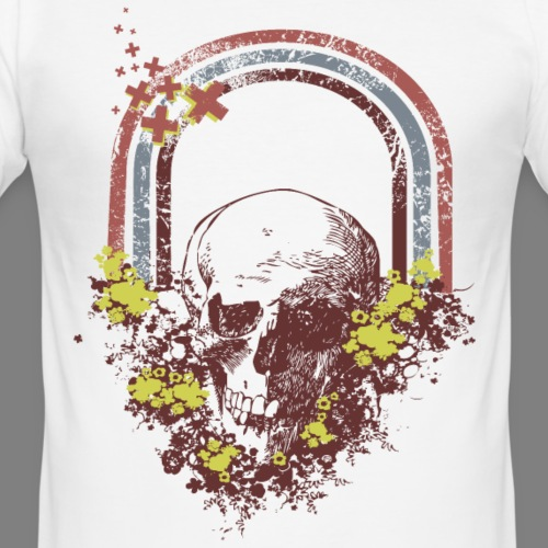 Skull - Männer Slim Fit T-Shirt