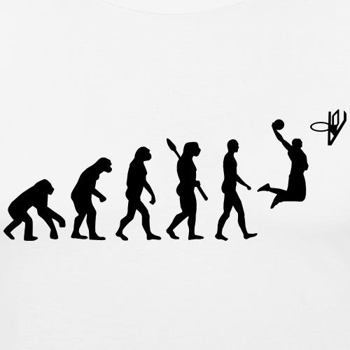 evolution basketball - T-shirt près du corps Homme
