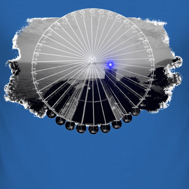 Ferris Wheel (grey/blue)