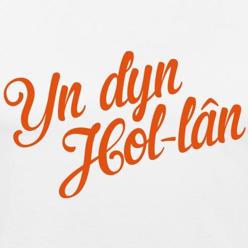 Yn dyn Hollan - Mannen slim fit T-shirt