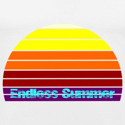 Endless Summer - Männer Slim Fit T-Shirt