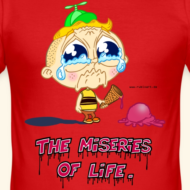 The Miseries of Life Eiscreme Eis Kind