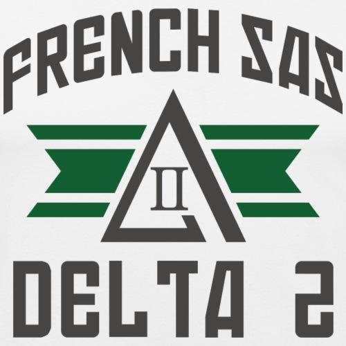 FRENCH SAS DELTA2 - T-shirt près du corps Homme