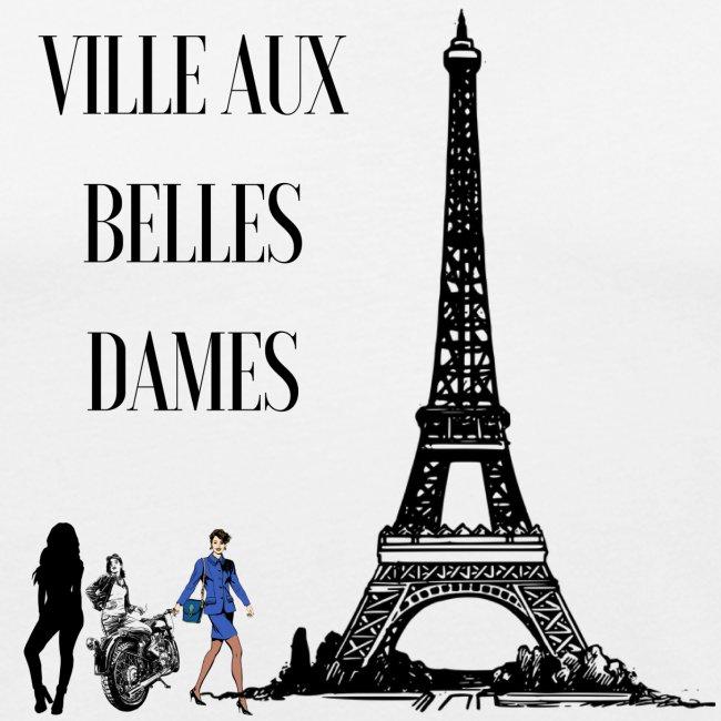Paris Ville aux belles dames