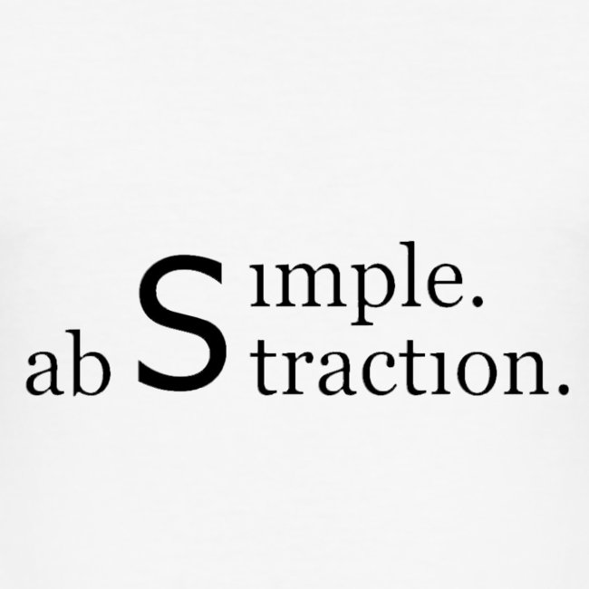 simple. abstraction. logo