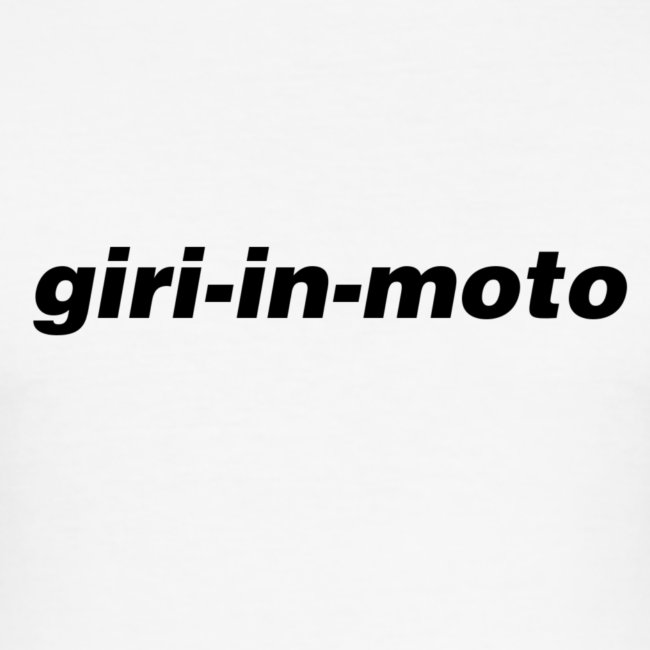 GIRI IN MOTO LIFESTYLE CLASSIC NERO
