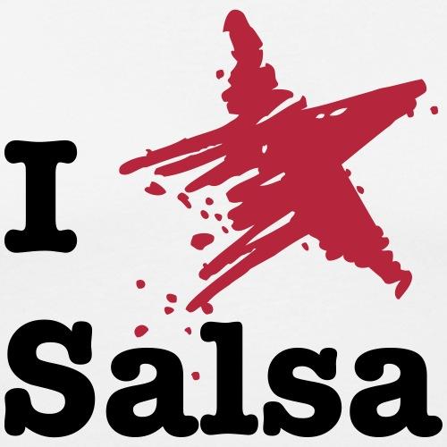 I love Salsa - Männer Slim Fit T-Shirt