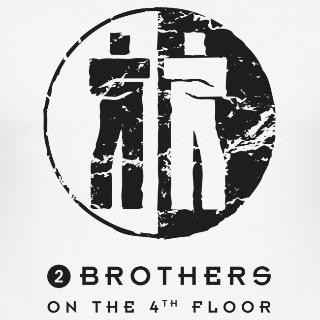 2 Brothers Black text
