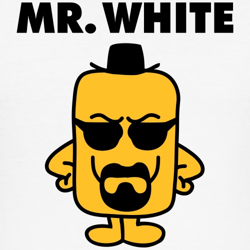 Mr White - slim fit T-shirt