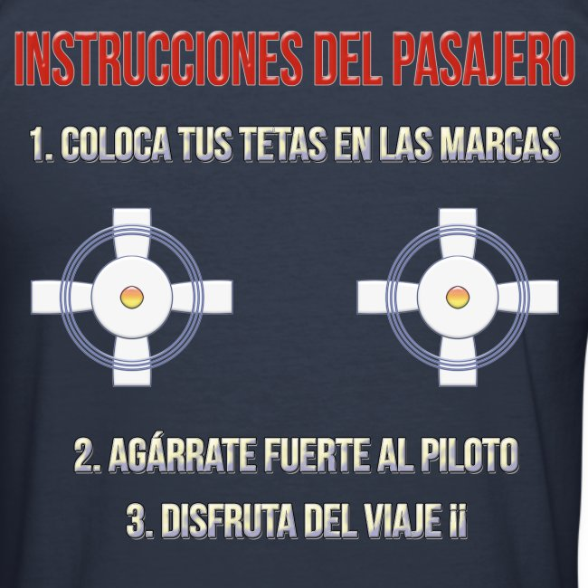 Instrucciones Pasajero