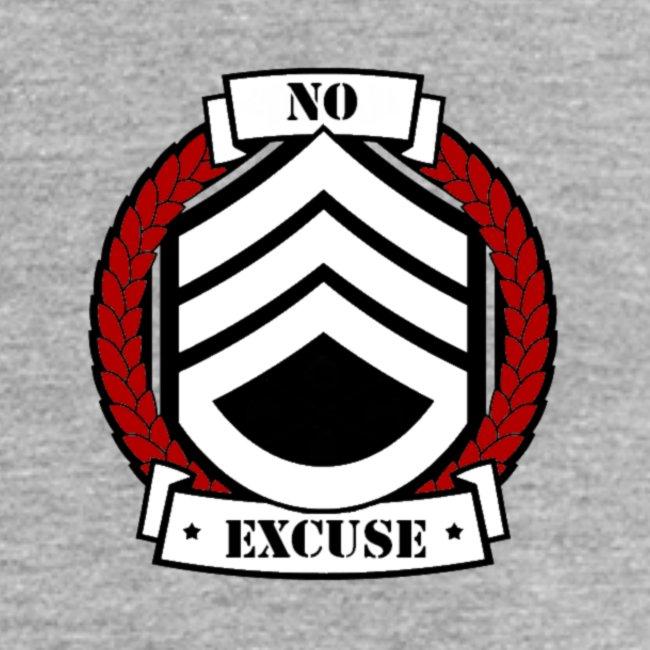 no excuse logo png