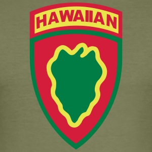 Hawaiian_division - Slim Fit T-shirt herr