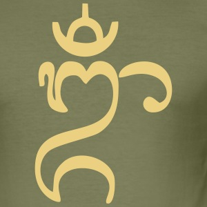 Bali Om - Men's Slim Fit T-Shirt