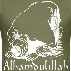alhamdulillah - Slim Fit T-shirt herr