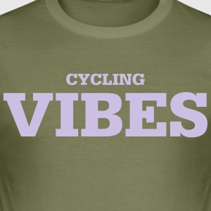 Cycling Vibes - Men's Slim Fit T-Shirt