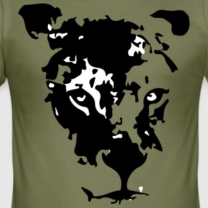 Maouli the lioness - slim fit T-shirt