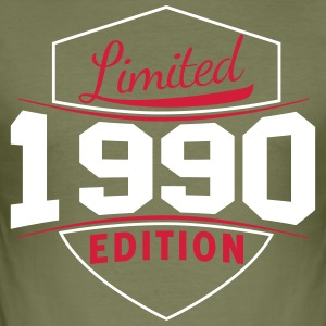 limited edition 1990 shield - Men's Slim Fit T-Shirt