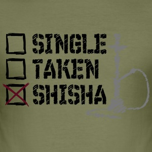 SINGLE GENOMEN SHISHA - slim fit T-shirt