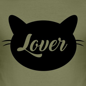 Cat lover - Men's Slim Fit T-Shirt