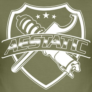 aestetic - Männer Slim Fit T-Shirt