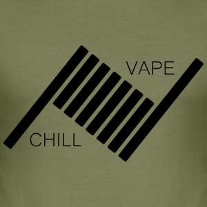 Vape and Chill - Men's Slim Fit T-Shirt