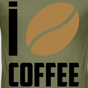 I love coffee - slim fit T-shirt